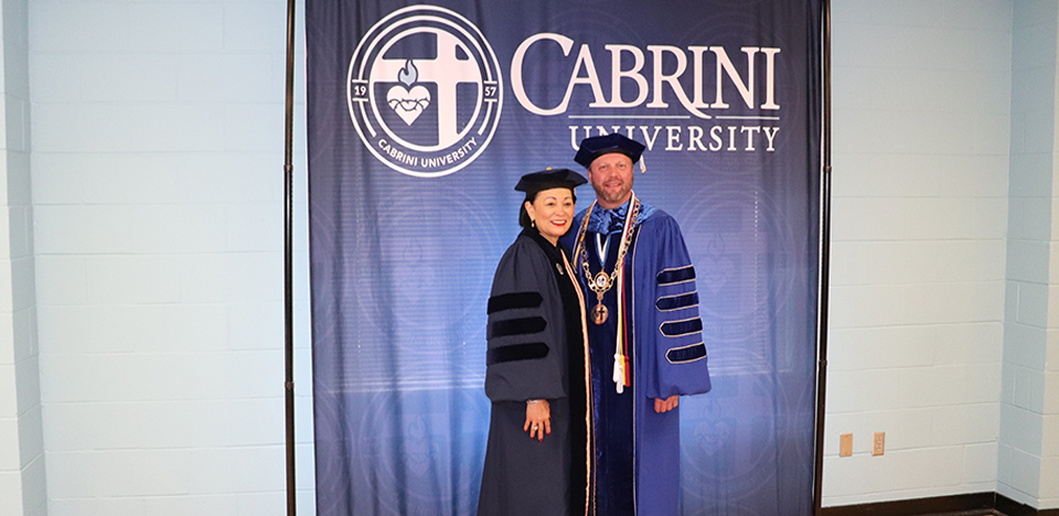 Dr. Santiago received an Honorary Doctor of Humane Letters